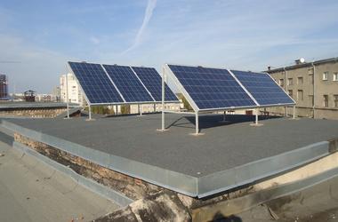 Солнечная электростанция на крыше Северного корпуса ХНУ имени В.Н. Каразина